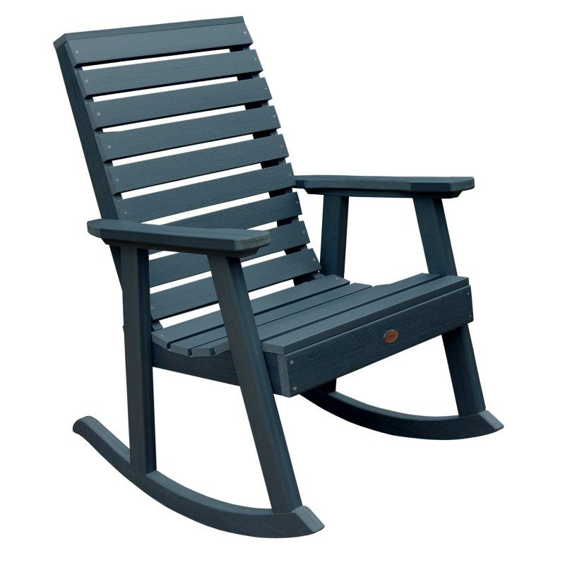 Superb Outdoor Highwooda Weatherly Recycled Plastic Rocking Chair Pdpeps Interior Chair Design Pdpepsorg