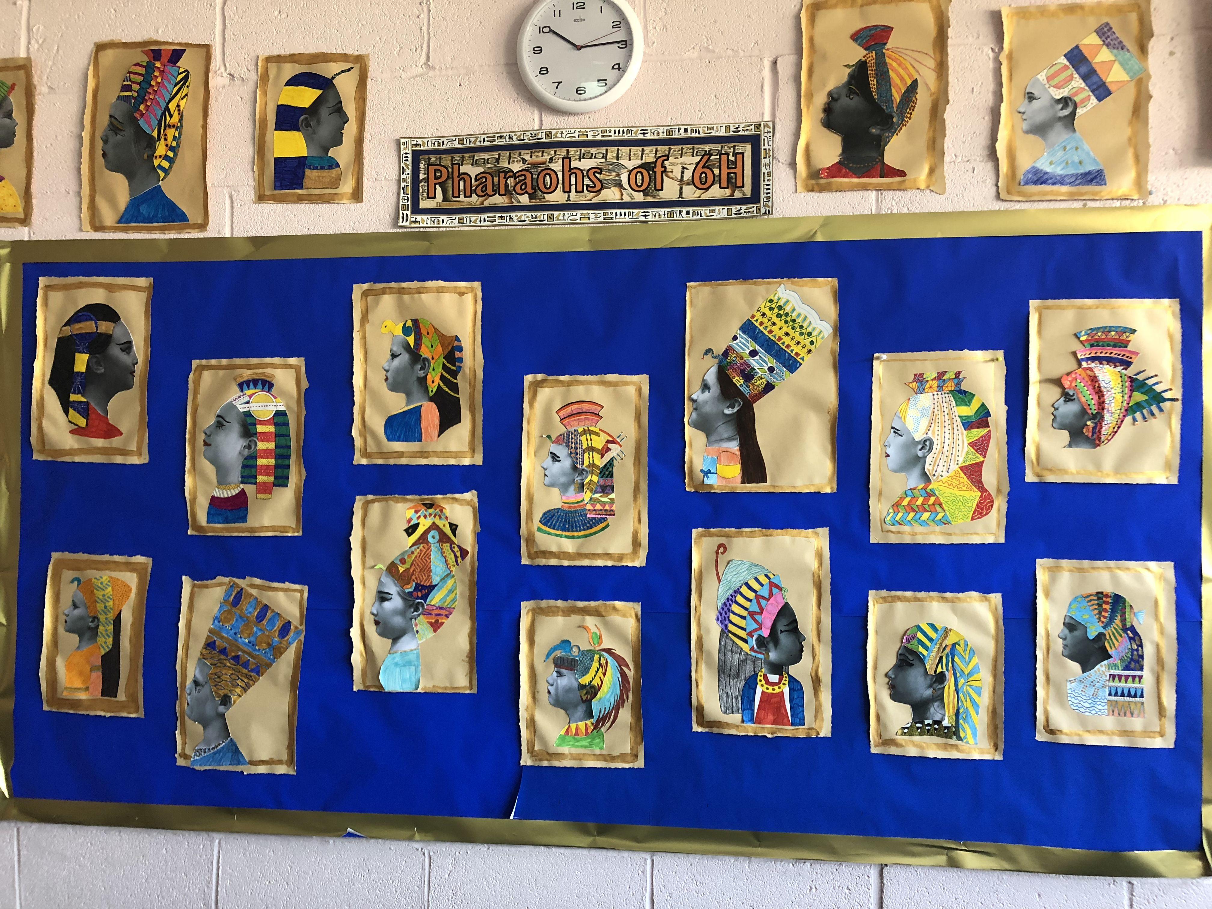 Art Ks2 Ancient Egypt