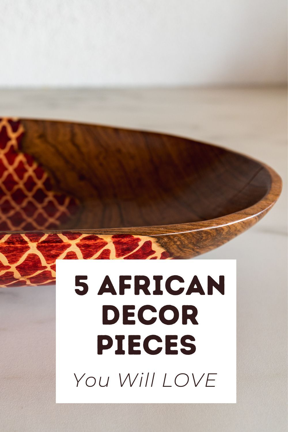 We've got 5 African decor pieces to help you breathe new life into your queendom! Need something functional and fabulous? Are you looking to add a touch of culture to your casa? From the home office to the boudoir, we've found 5 African decor pieces you'll love. #africandecor #africanfashion #africandesign