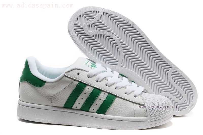 Adidas Superstar II verde