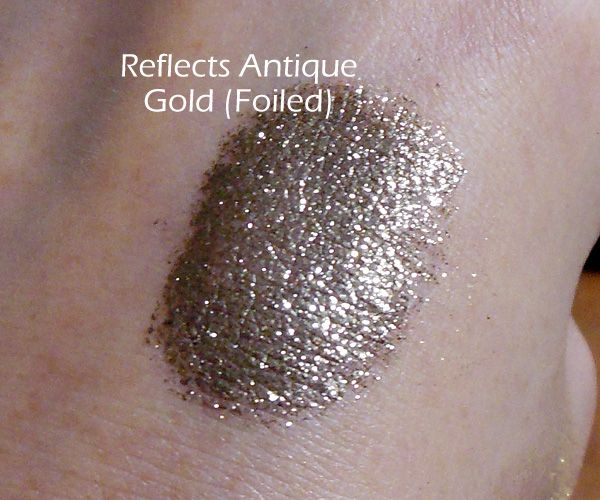 Antique Gold Pigment Eye Shadow By M A C