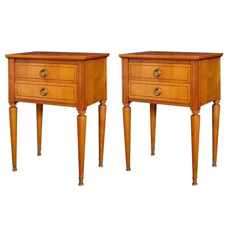 Best A Stylish Pair Of French Mid Century Modern Sycamore 2 640 x 480