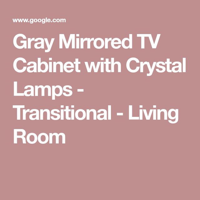 Beautiful Mirrored Cabinets Living Room Vignette - Living Room ...