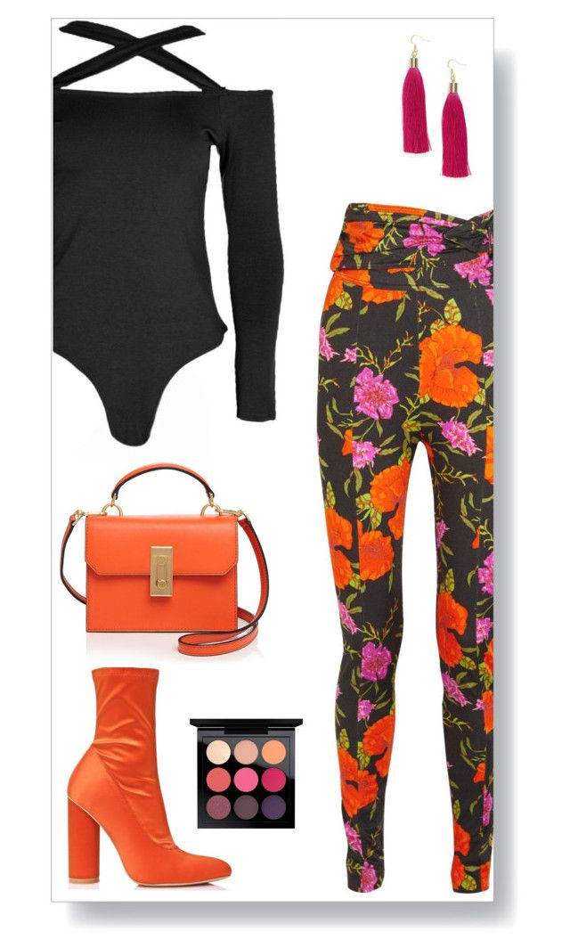 """Untitled #604"" by zahara-vardah ❤ liked on Polyvore featuring Balenciaga, Boohoo, Flynn, MAC Cosmetics and Love's Affect"