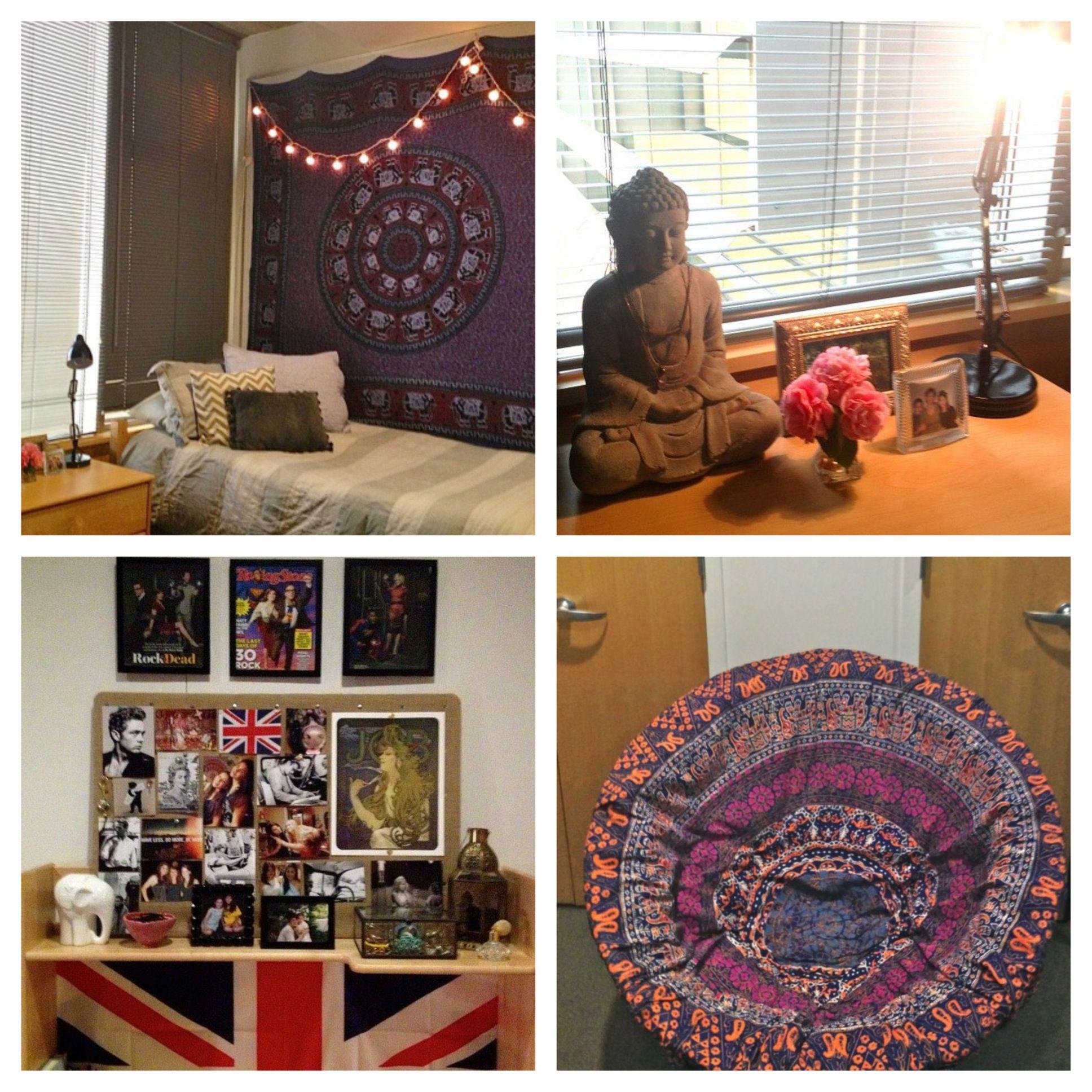 Boho Dorm - love the chair | Dorm Room Ideas | Pinterest ...