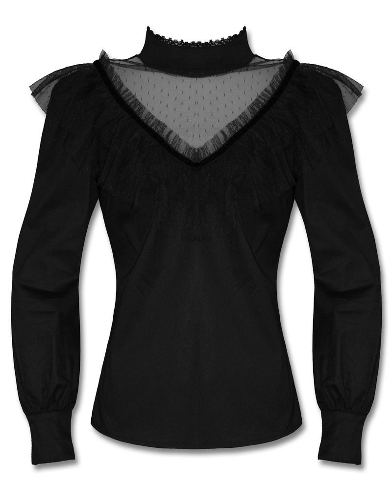 e757d0ccc664 I'm shopping Black crochet cold shoulder top in the River Island iPhone  app. | June Wish List | Tops, Summer tops, Fashion