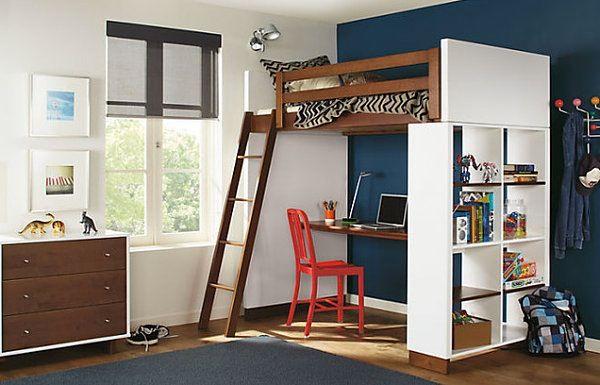 Best Th Loft Bed With Desk Underneath ロフトベッド 部屋 インテリア 小さなロフト 640 x 480