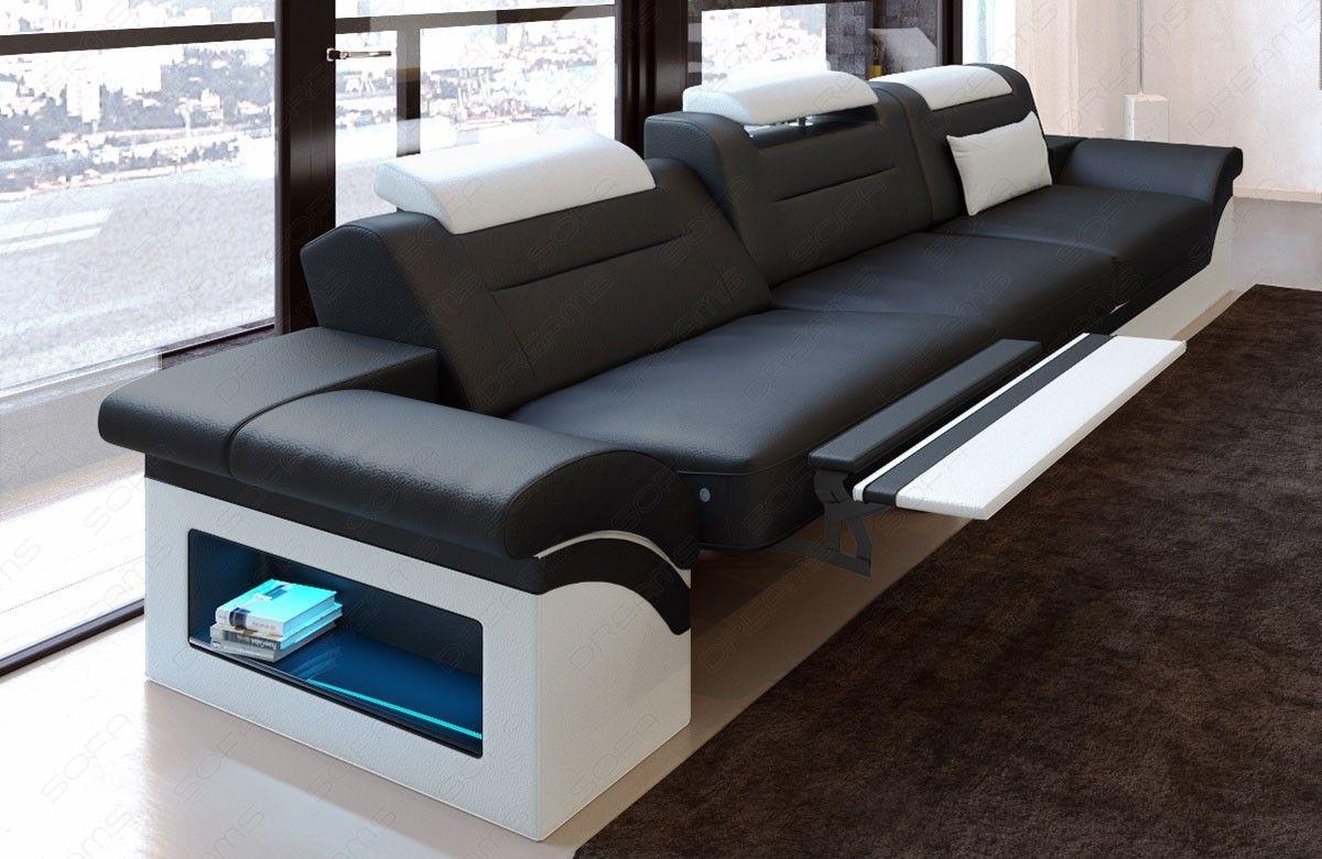 Sofa Monza 3 Sitzer Leder Designer Couch Sofa Und Modernes Ledersofa