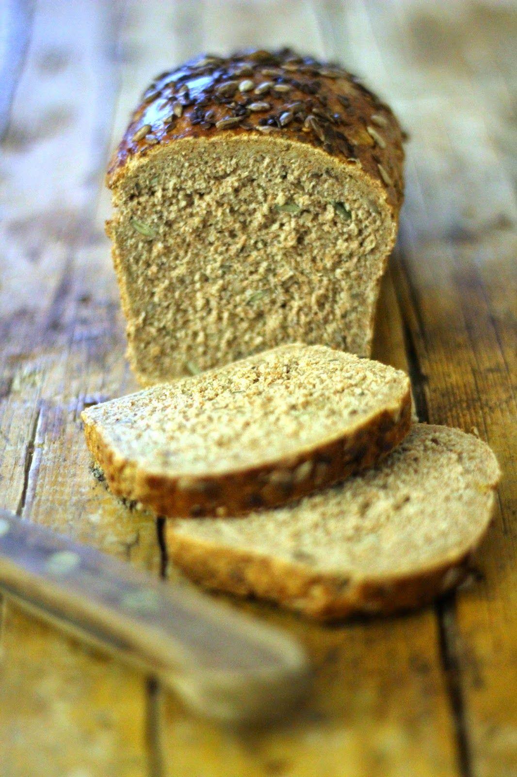 Pão Integral com Centeio e Sementes