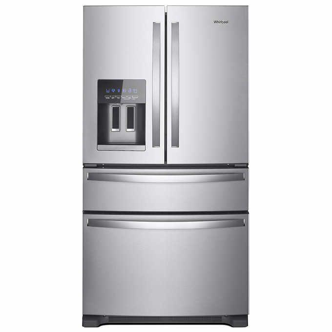 Best Whirlpool 25Cuft 36 Inch Wide French Door Refrigerator 400 x 300