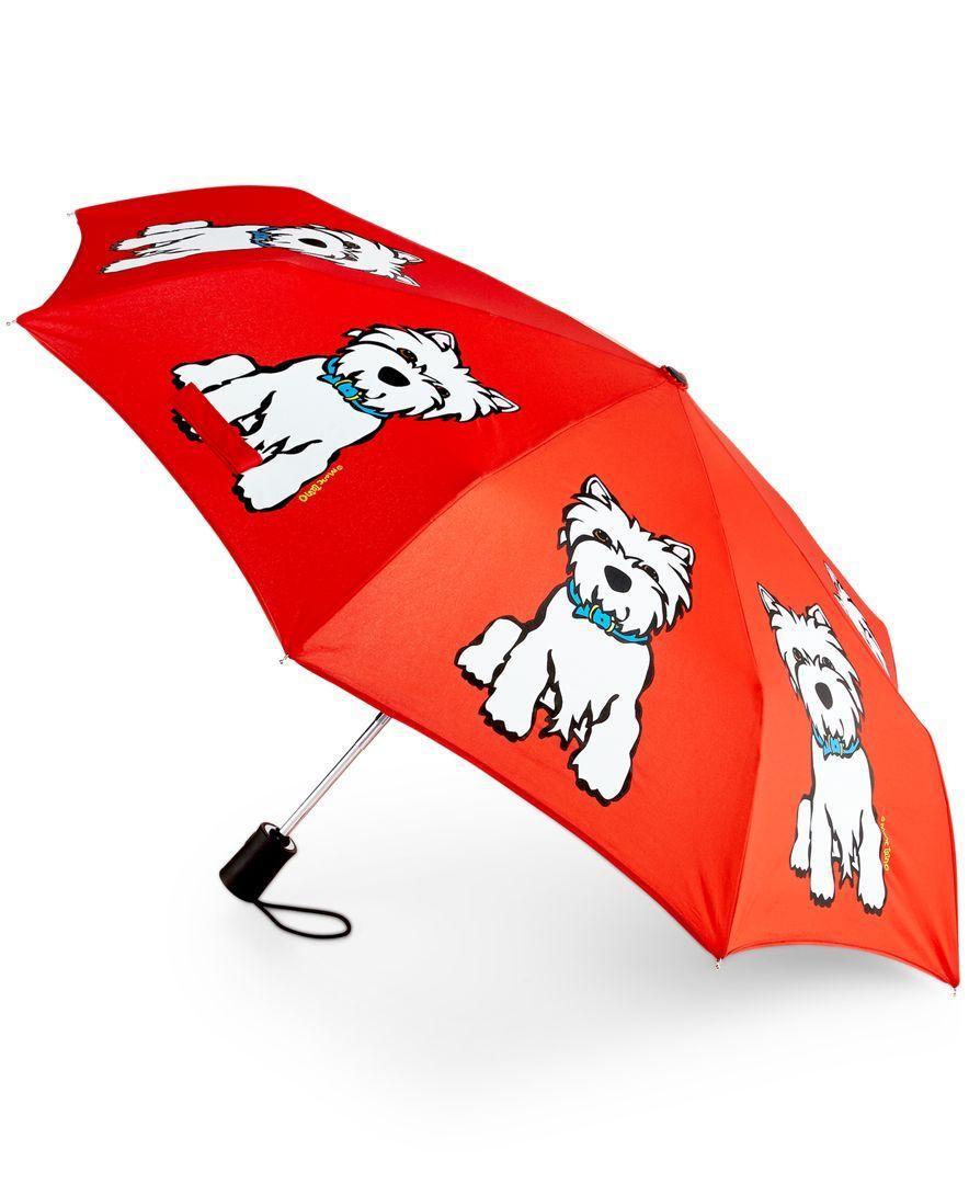 a8f89d5d3 Marc Tetro Westie Umbrella | westies | Dog umbrella, Westies ...