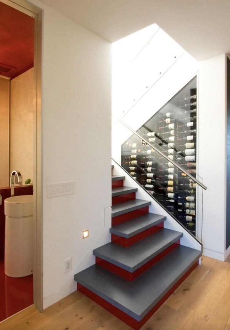 Pin by Katerina Bleyzer on Smart ideas for under stairs ...