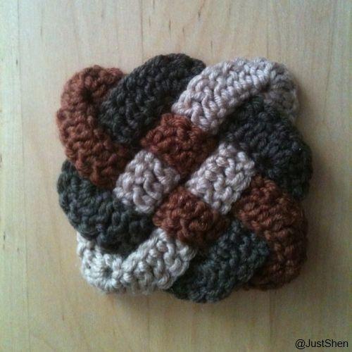 Celtic Knot / Keltischer Knoten #crochet #häkeln | My Style - my ...