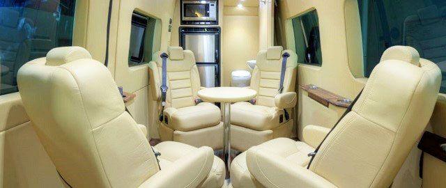 IN 46514 Driving Your Business Forward Land Jet Mobile Office Vans LandJet Automotive Designs Mercedes Sprinter Van Conversions