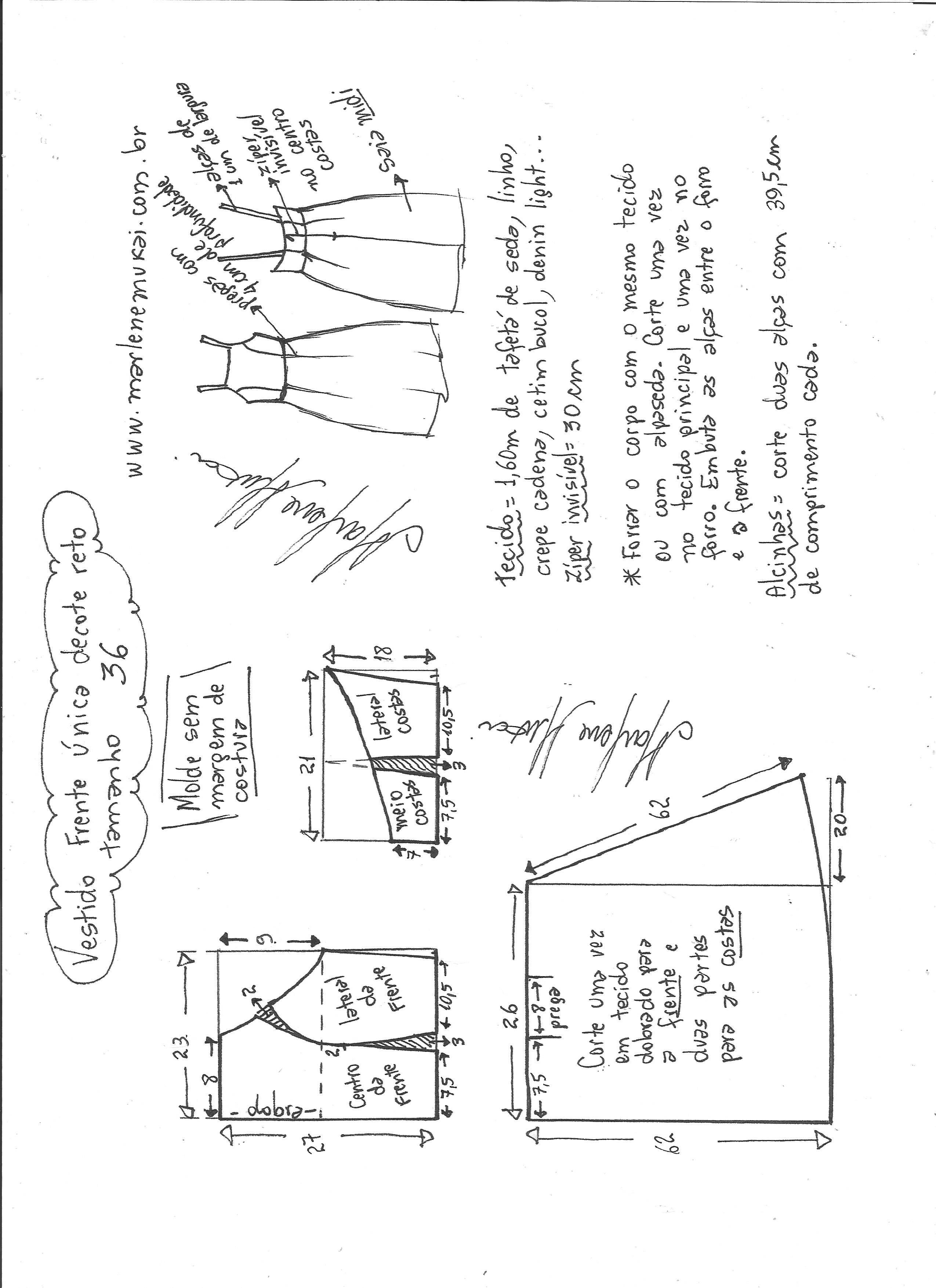 Pin de Cris RoCel en Corte y confección | Pinterest | Vestidos ...
