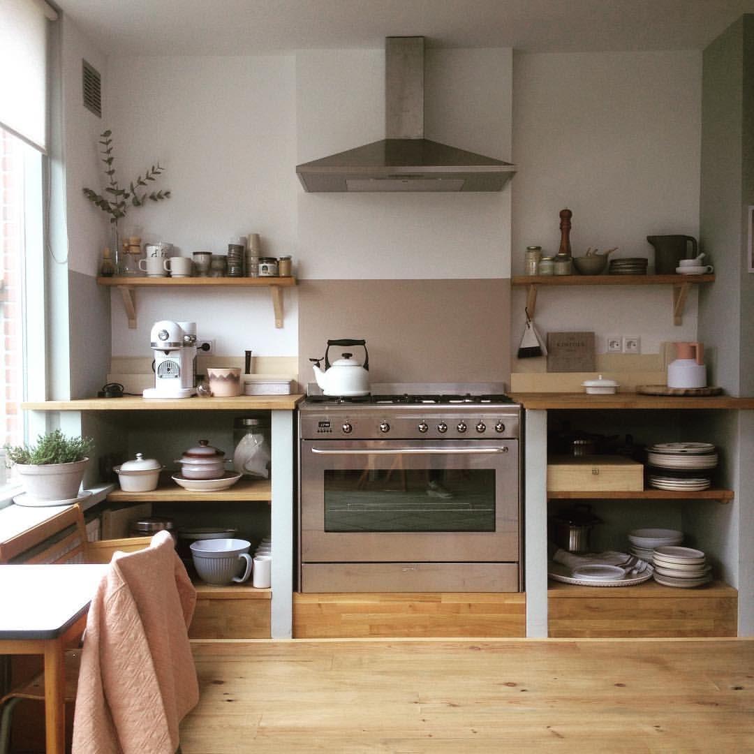 Instagram Photo By Tinta Jun 18 2016 At 9 49am Utc Freestanding Kitchen Kitchen Design Home Kitchens