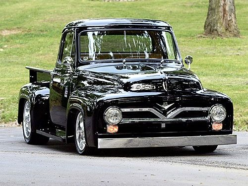 Ford F-100 1955 (With images) | Classic trucks, Classic cars trucks, Ford  trucks