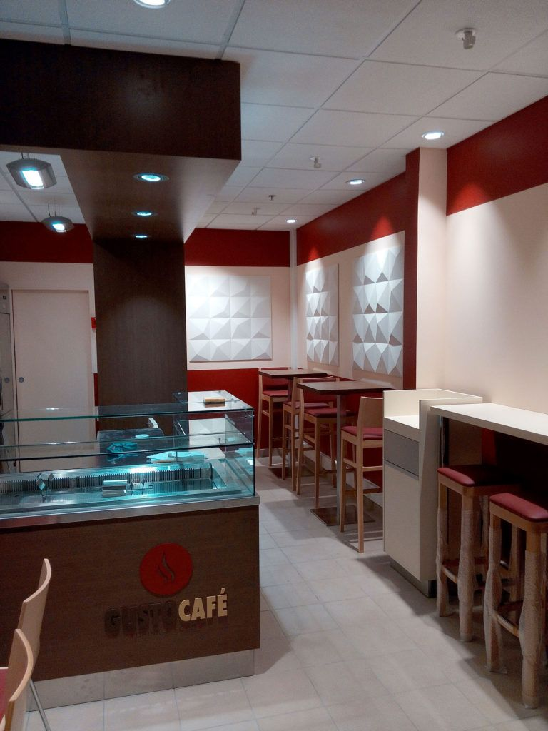 02 Cafeteria Gusto Cafe Concept Amenagement Drink Agencement