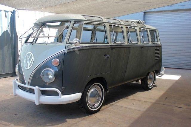 1961 VW 23 Window Samba Bus! Fully Converted from original Microbus!
