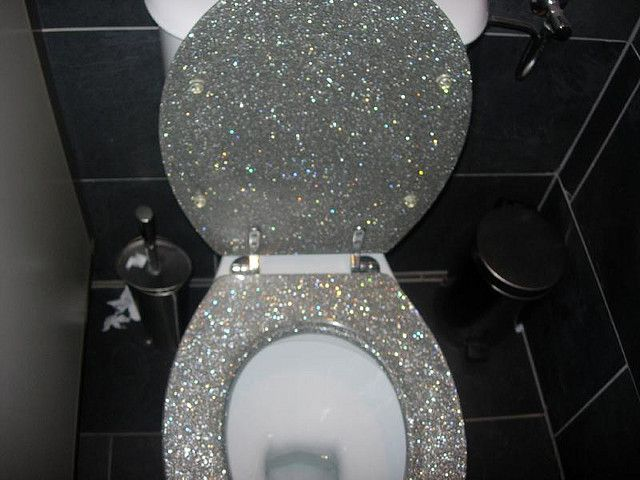 Sedili Wc Ikea : Glitter toilet bling and more! pinterest toilet bling and