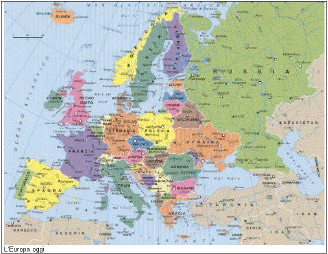 Cartina Dell Europa Geografica.Cartina Geografica Europa Anni 80 My Blog Europa Anni