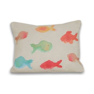 Water Color Fish (16 x 20) Pillow   Overstock.com Shopping - Great Deals on Thro Throw Pillows