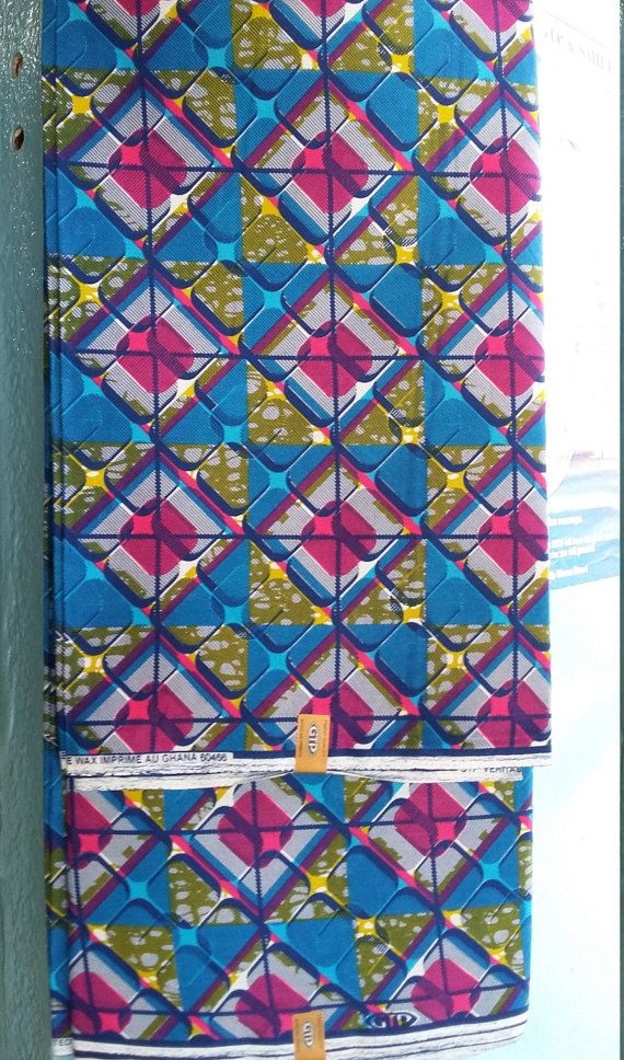 African Print Fabric Ankara Cloth Ghana By Afrogeniccollections Printing On Fabric African Print Fabric Fabric