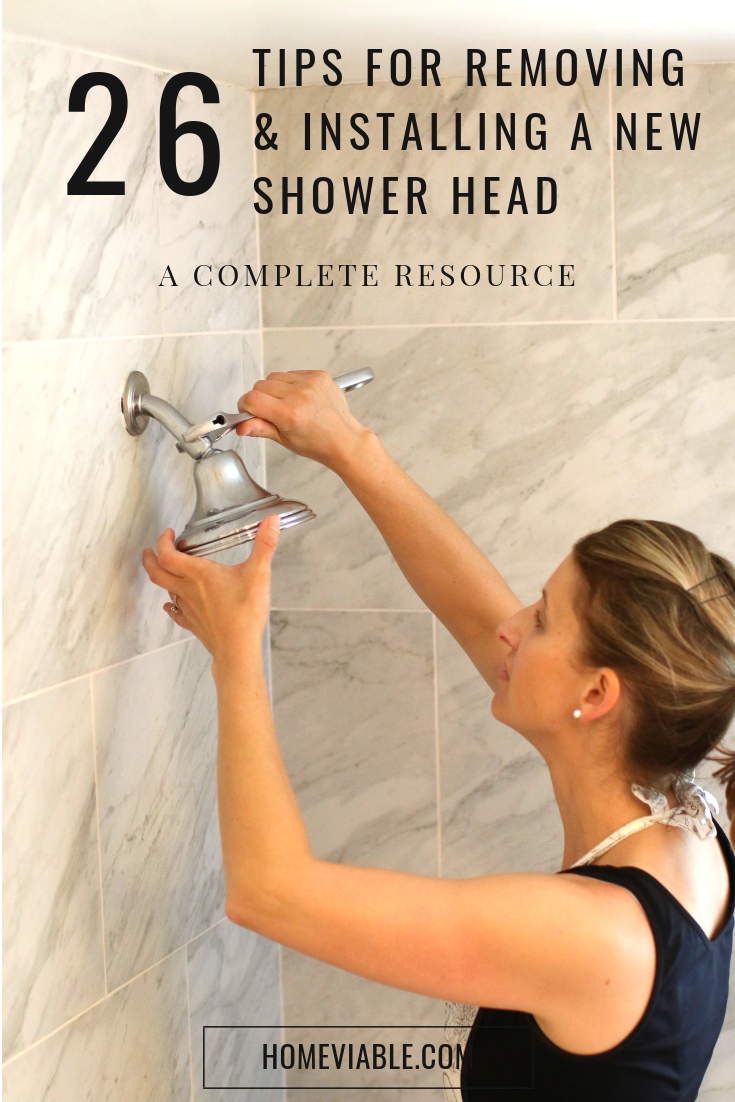 The Complete Guide To Removing And Installing A New Shower Head With Images Shower Heads Installation Rainfall Shower Head