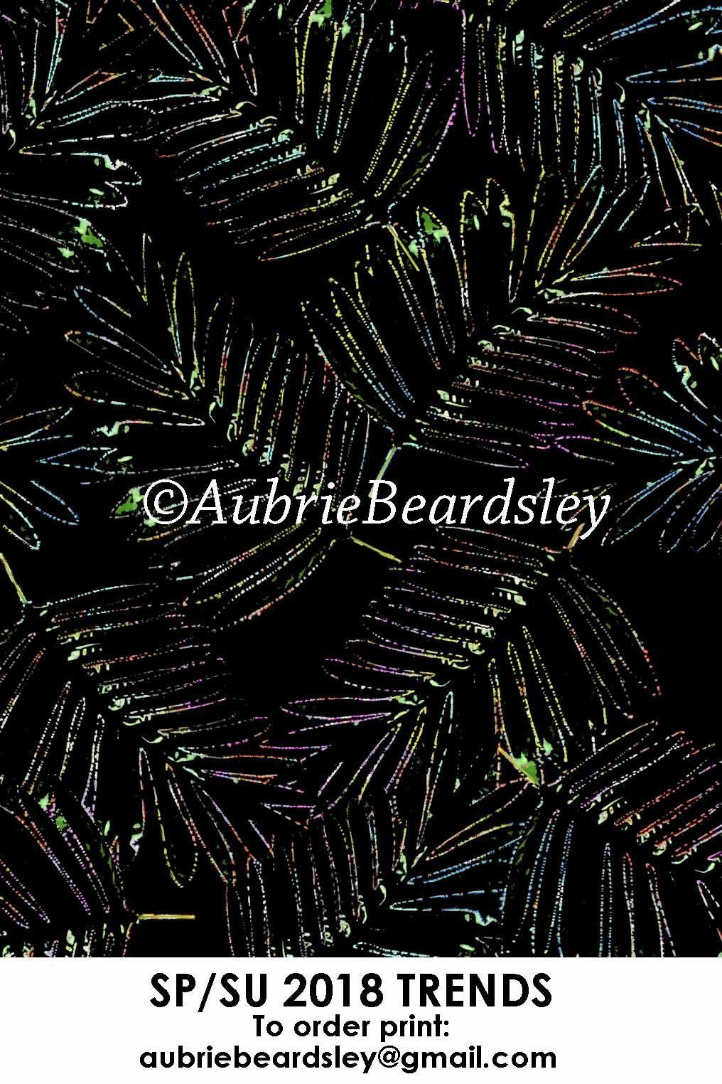 ©aubrie beardsley #textile #pattern #print #tropical #palms #swimwear #active #2018 #textiledesign #textiledesigner #designer