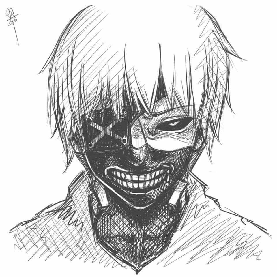 Pin Em Tokyo Ghoul