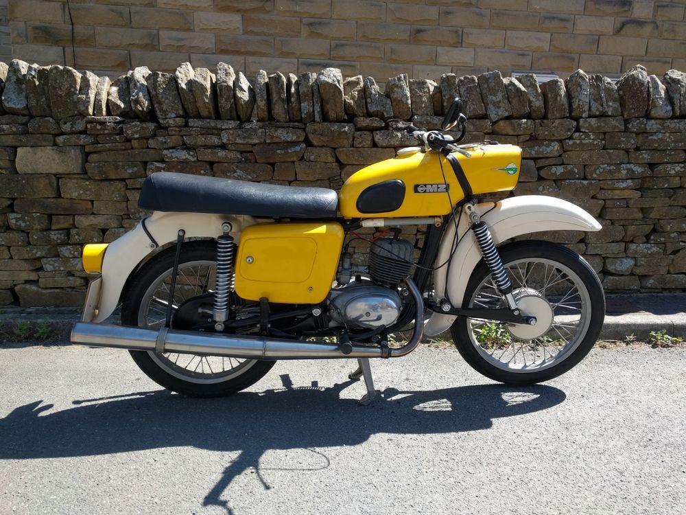 eBay MZ ES 150/1 TROPHY motorcycle 1976 in 2020