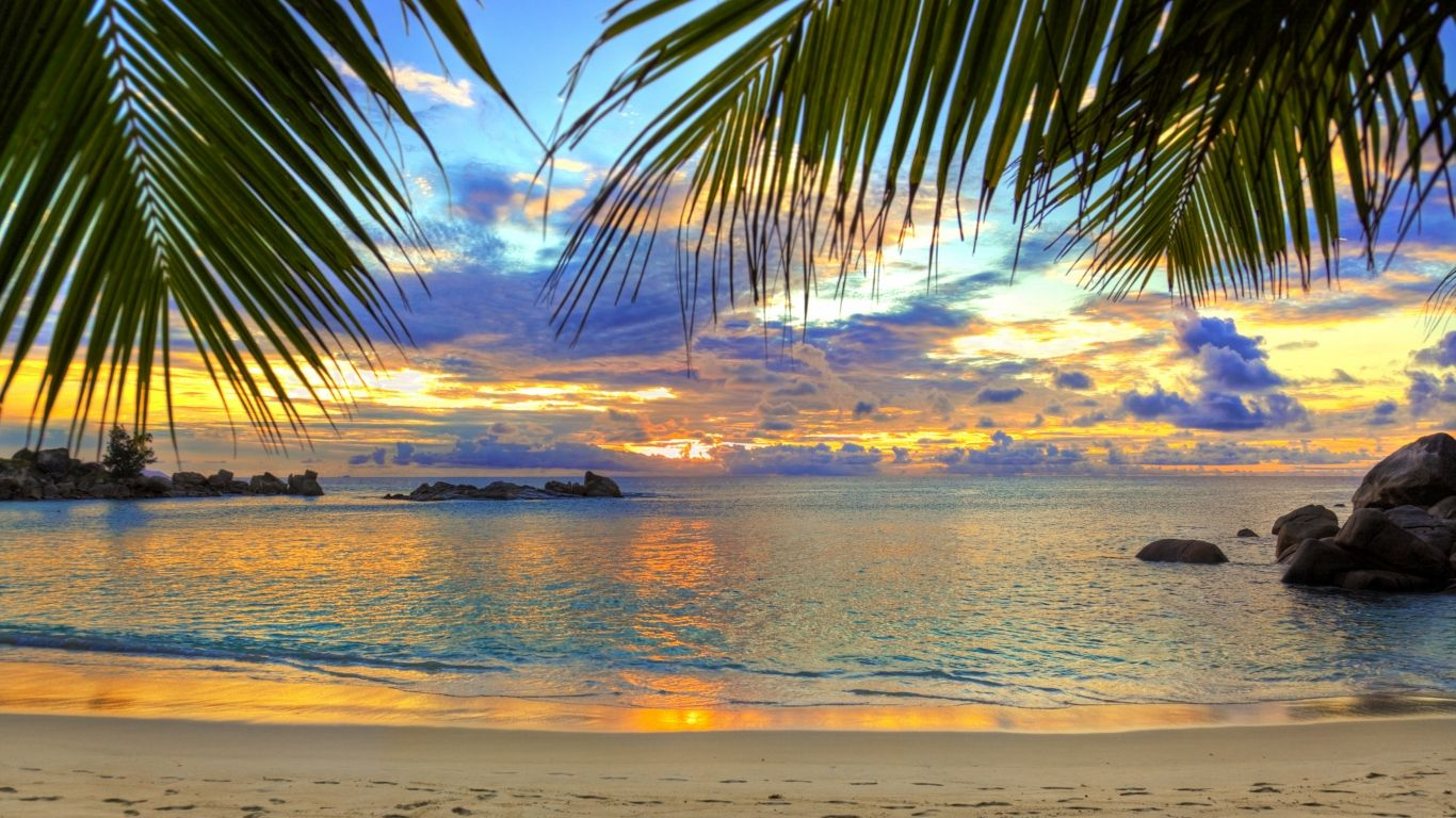 Laptop 1366x768 Beach Wallpapers HD, Desktop Backgrounds