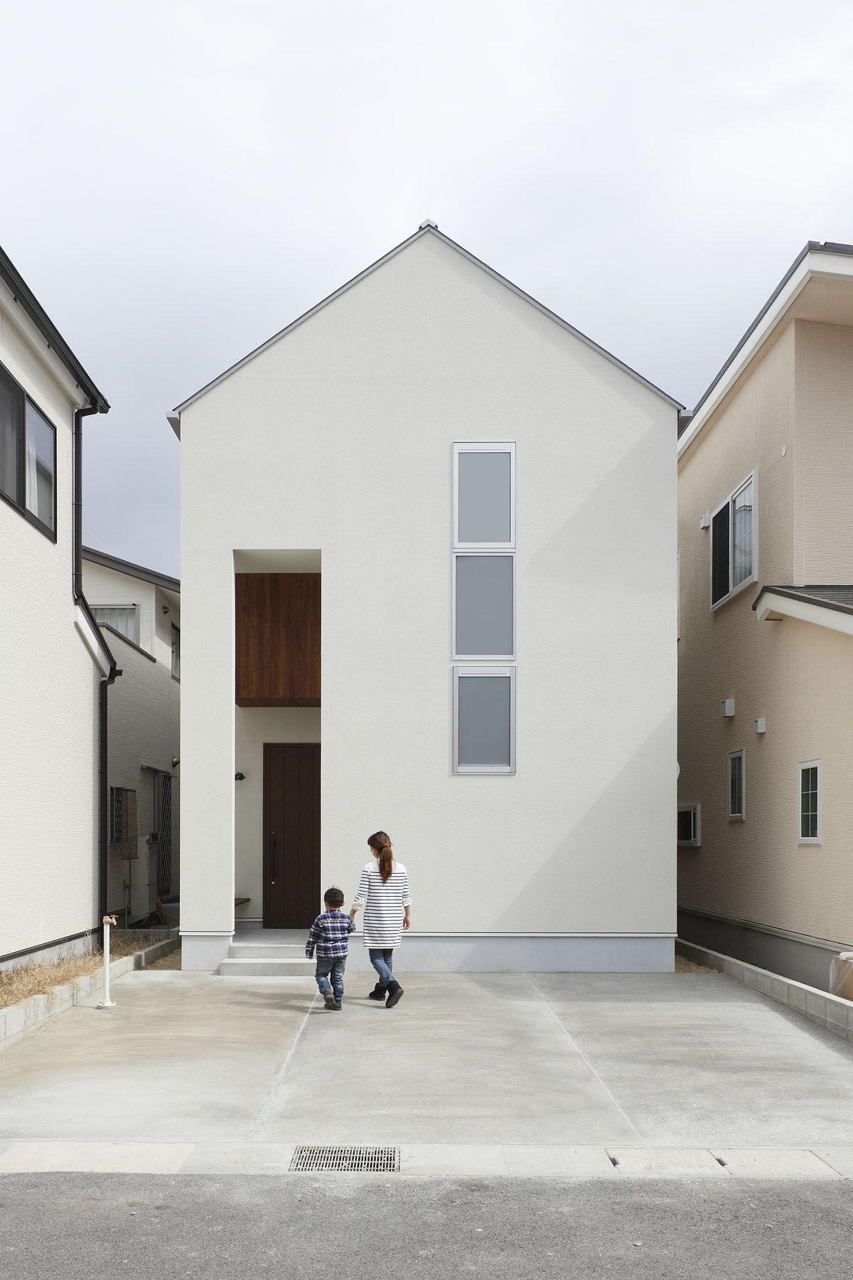 Small Narrow Minimalist House In Japan Interiors In 2018