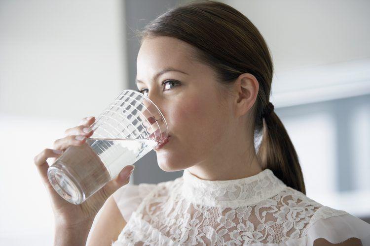 perdida de peso con agua destilada