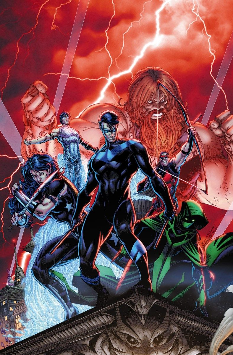 Titans #1 Written By Dan Abnett Art And Cover By Brett Booth And Norm  Rapmund