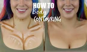 Image result for body contouring and highlighting tutorial