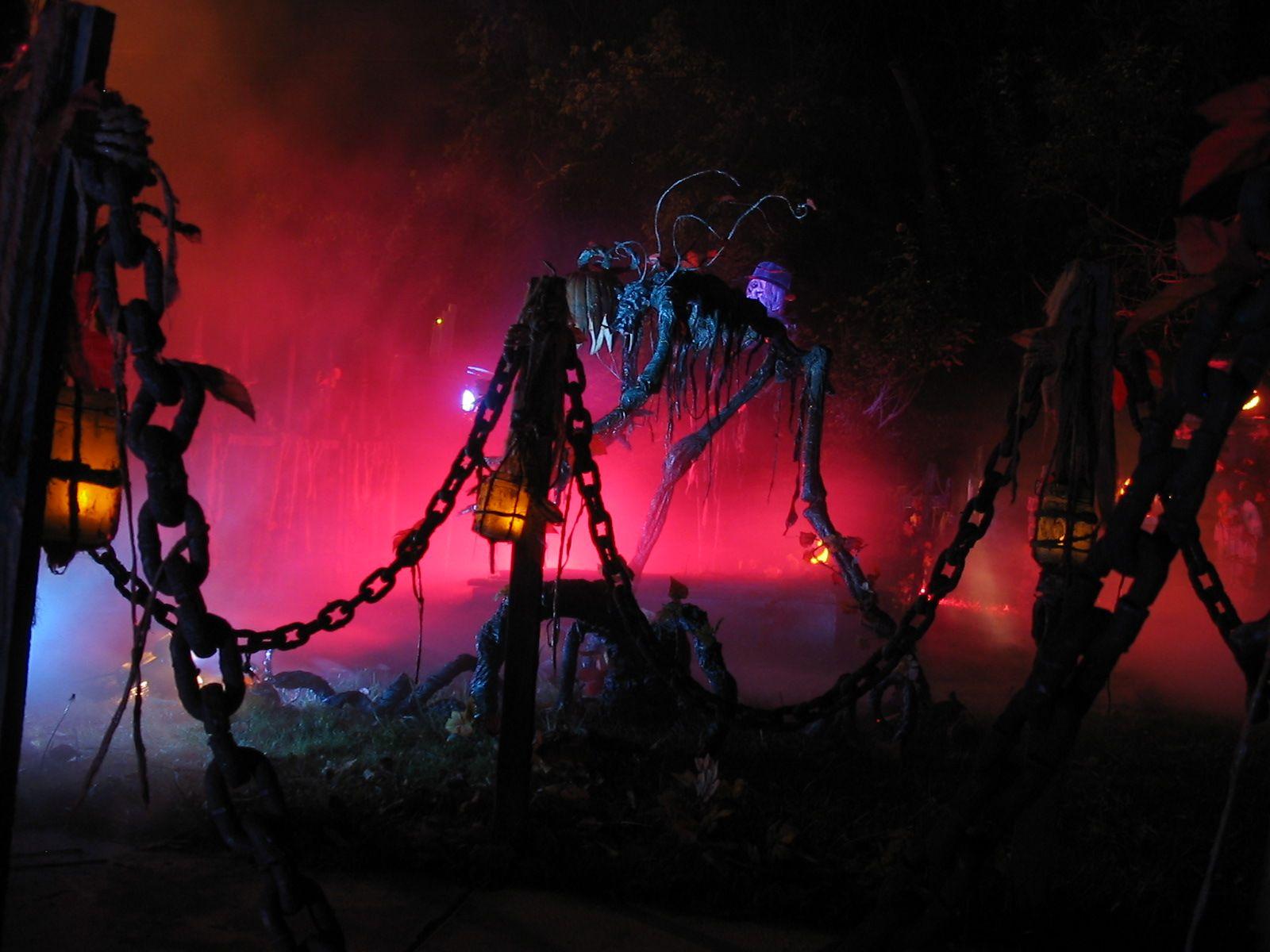 haunted house lighting ideas. Haunted Houses House Lighting Ideas