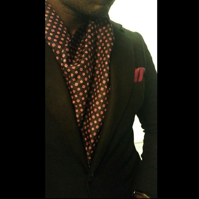 ■ R e d | O c t o b e r ■ #streetstyle#photo#blazer#mensattire#scarf#accessories#details#MensWear#dapper#classy