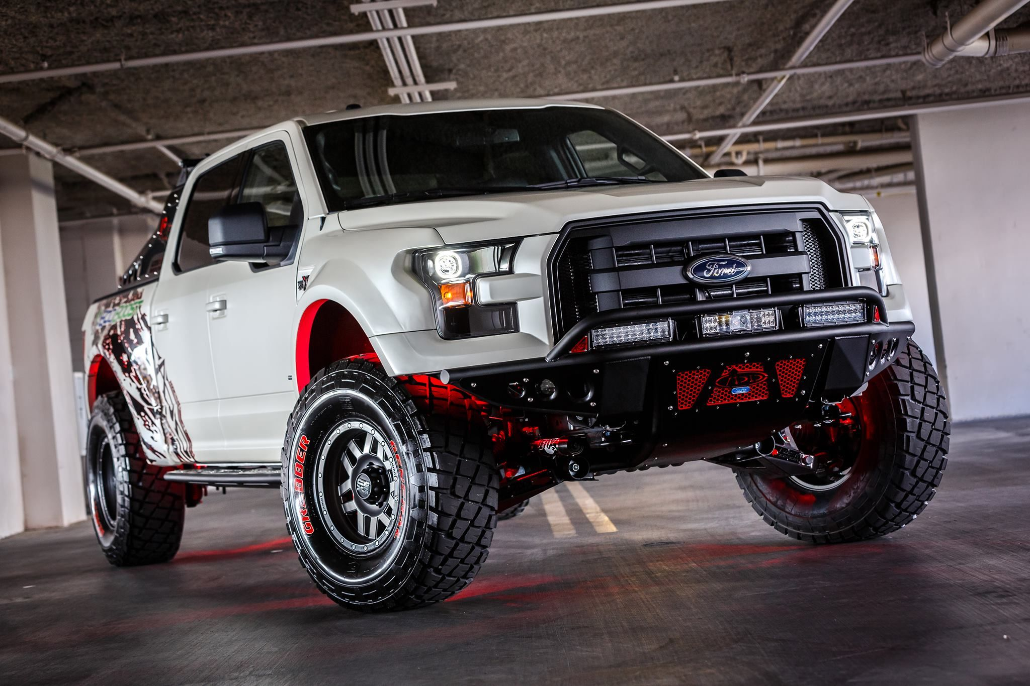 From renderings to real life 2015 Ford F 150 with our Baja XT kit