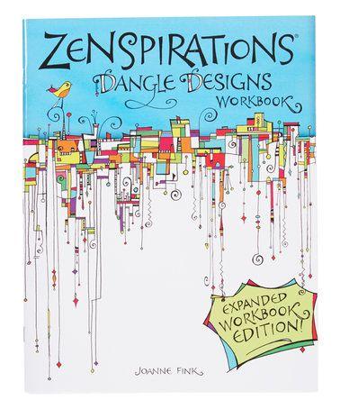Another great find on #zulily! Zenspirations Dangle Design Workbook #zulilyfinds