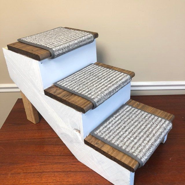 Best Set Of 3 Padded Carpet Treads For Your Pet Stairs Steps 400 x 300