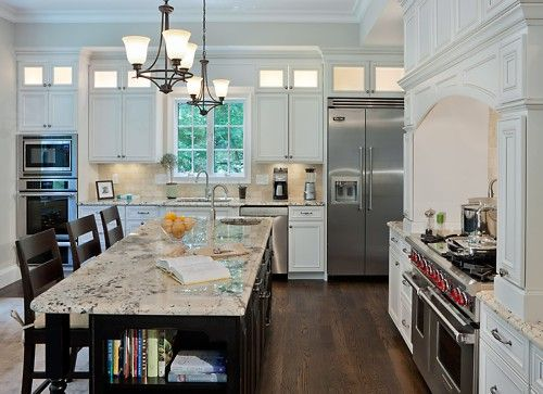 Dynasty By Omega Cabinets With Pewter Glaze Finish Contemporary