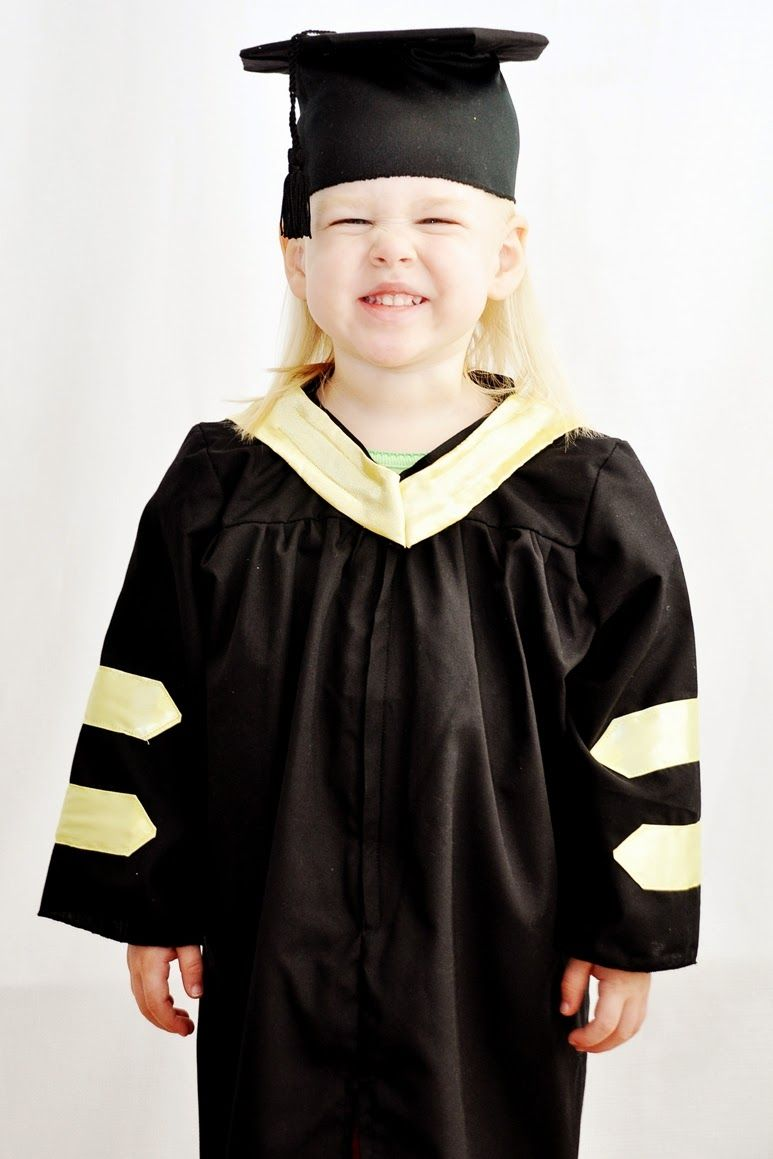 High quality baby, infant, toddler Caps and Gowns | Graduation Caps ...