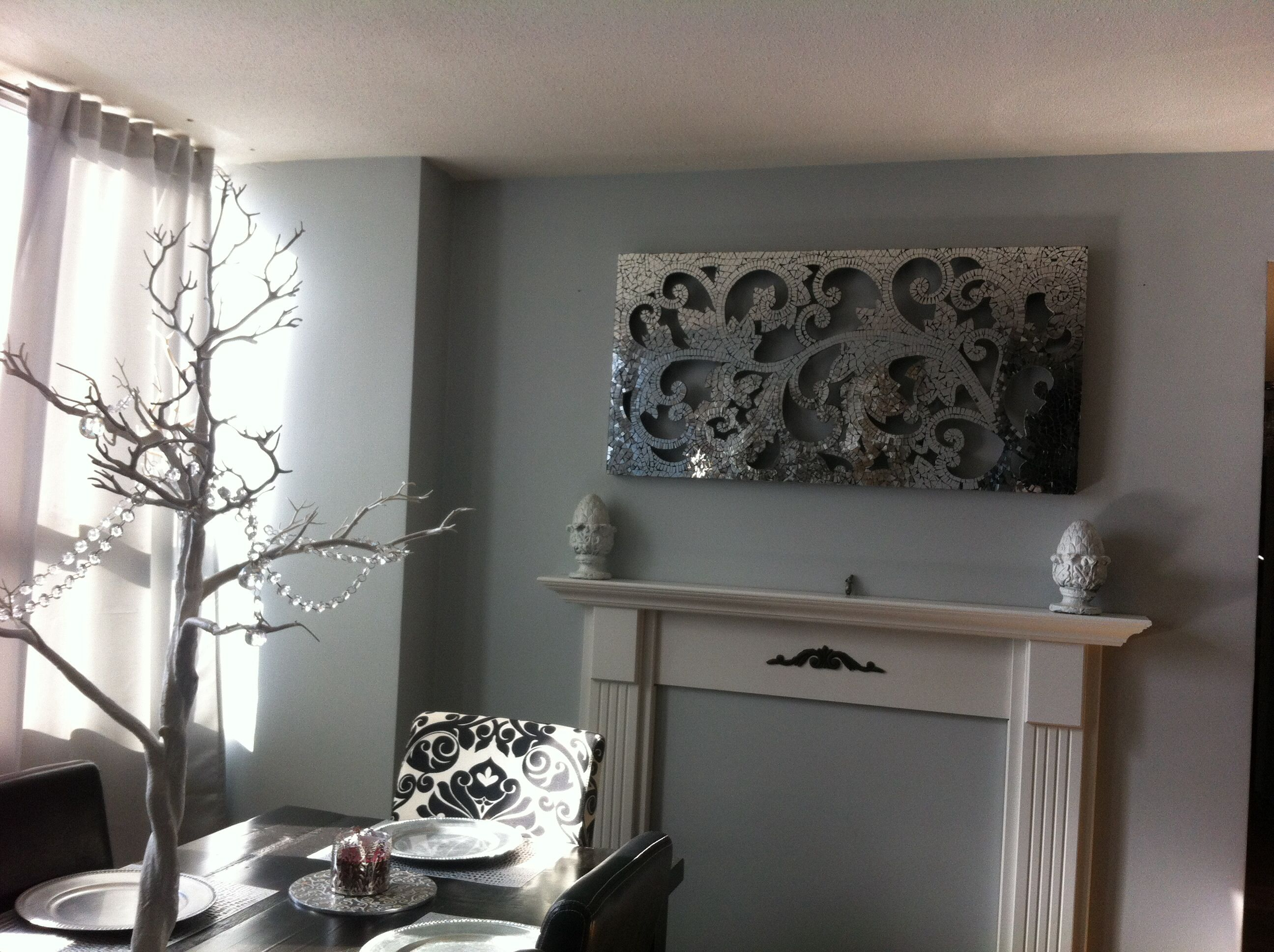 My Gorgeous Mirrored Mosaic Wall Panel Pier One