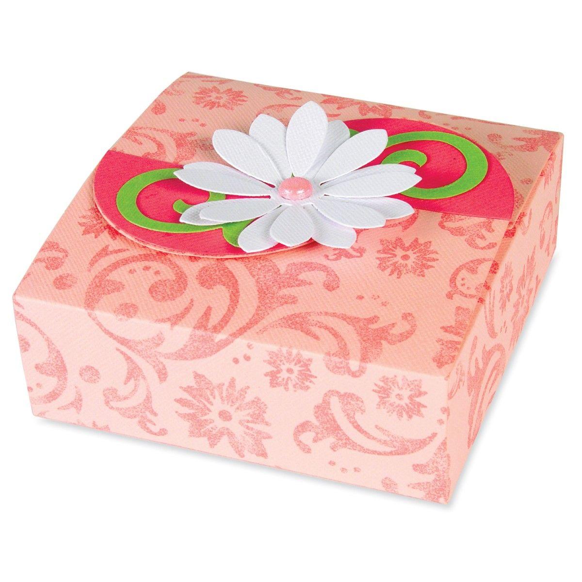 Box #1 Steel-Rule Die | AccuCut Craft | cajas para imprimirlo ...