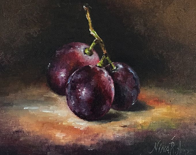 Photo of Nina R. Aide Fine Art Studio Original Oil Paintings by NinaRAideStudio