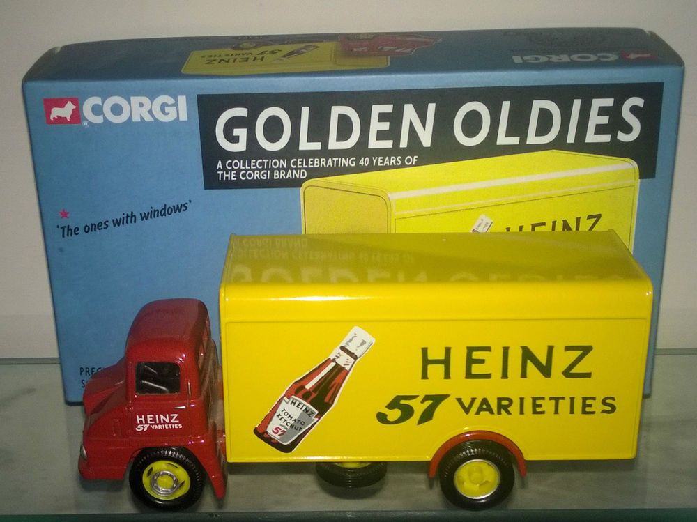 Corgi 30302 Golden Oldies 19303 Thames Trader, Heinz 57 Varieties ...