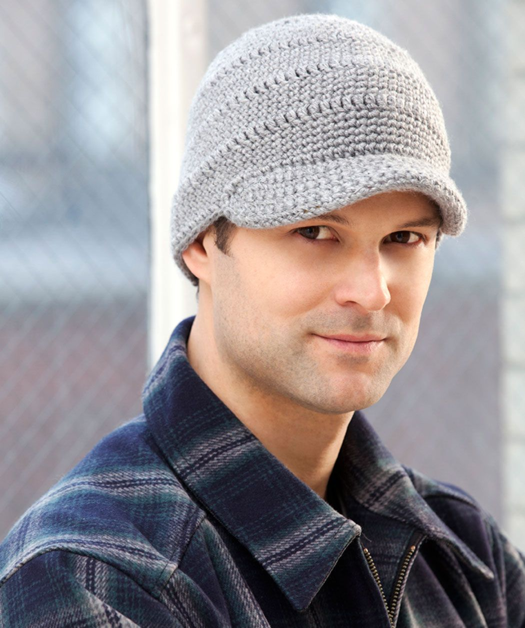 Knit Brim Hat Pattern : Streetwise Brim Hat - Im interested in this brim which has interfacing o...