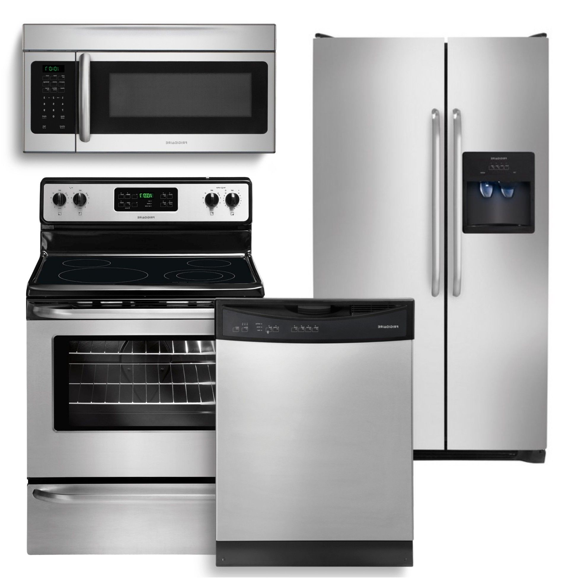 appliance package packages ge piece kitchen catalog slate