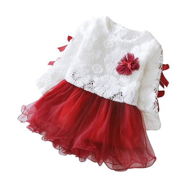 Baby Girl Dress New Princess Infant Party Dresses for Girls Autumn Kids tutu Dress Baby Clothing Toddler Girl Clothes